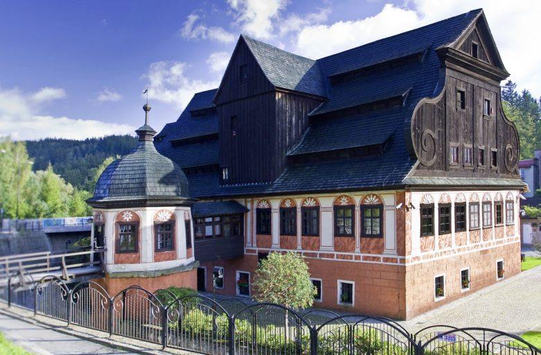 Die Papiermühle in Duszniki Zdrój in Polen