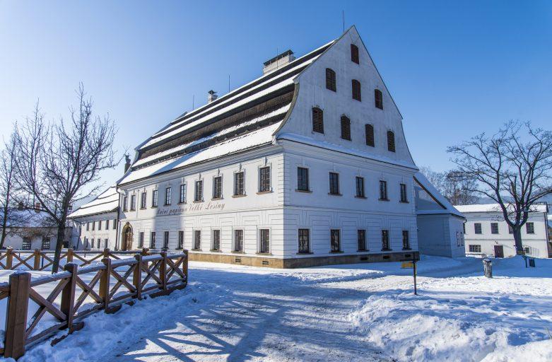 The Papermill in Velke Losiny in the Czech Republic