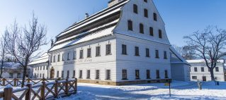 La fábrica de papel en Velke Losiny en la República Checa