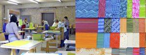Das Museum Papiermühle Homburg Workshop Kleister Papier in der Papierscheune
